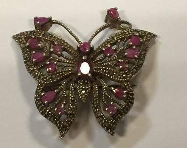 Broche papillon Estimation basse: 75 € Catawiki