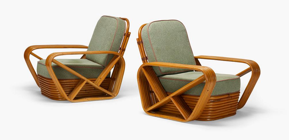 Chaise lounge par Paul Frankl Wright Estimation basse: 910 €