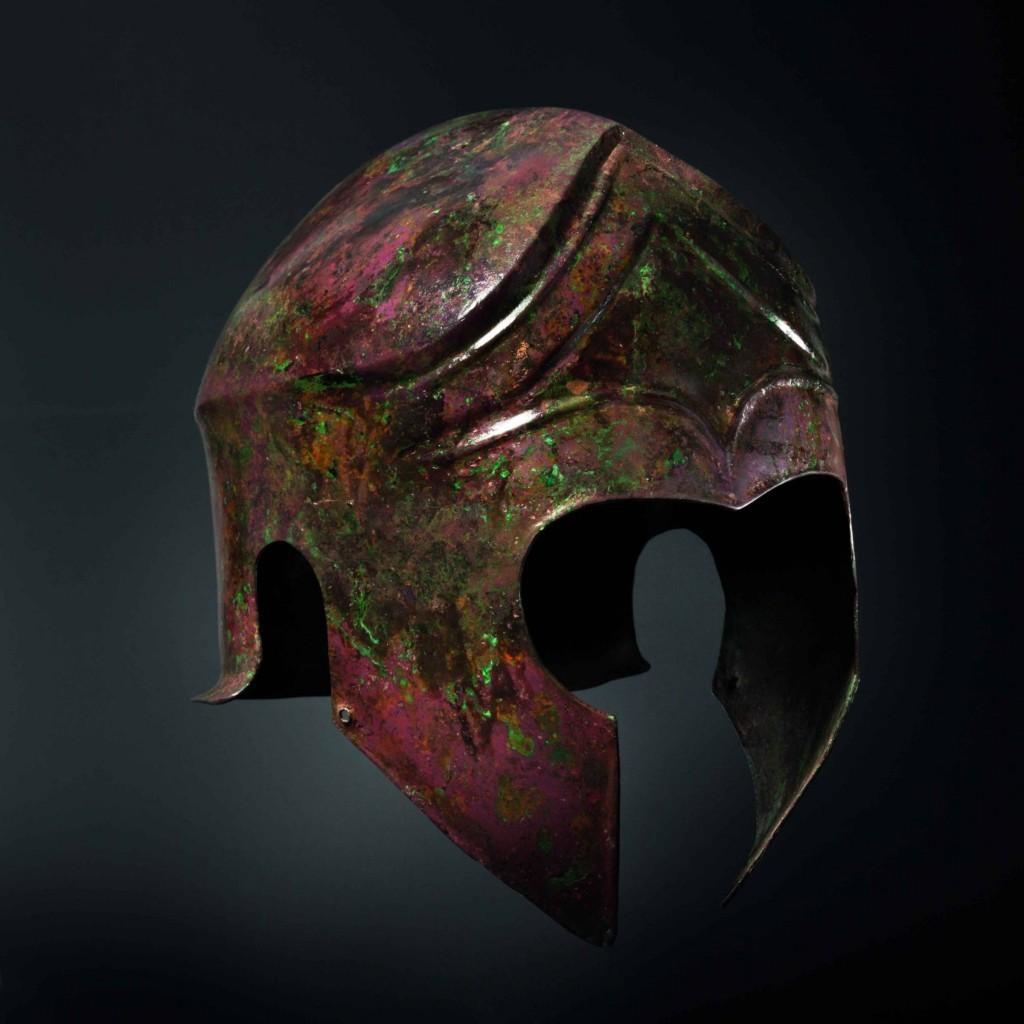 Bronze helmet, fifth century BC