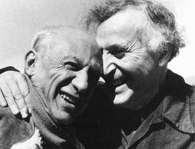 Pablo Picasso et Marc Chagall