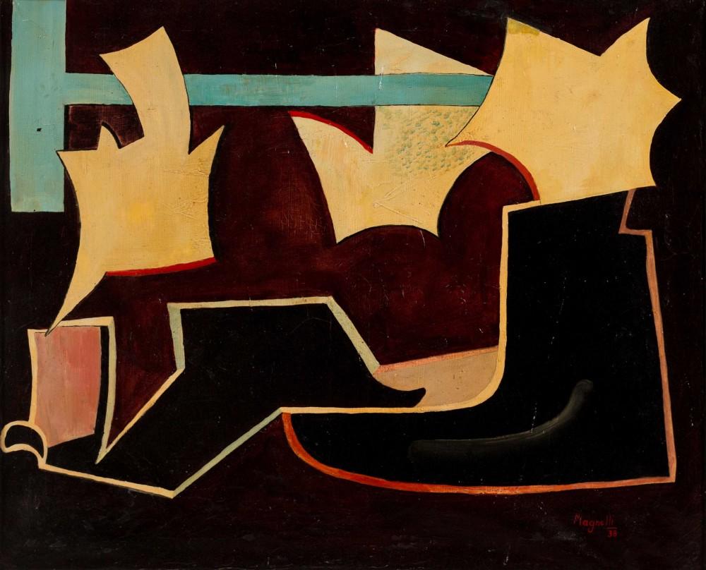 Alberto Magnelli, Untitled