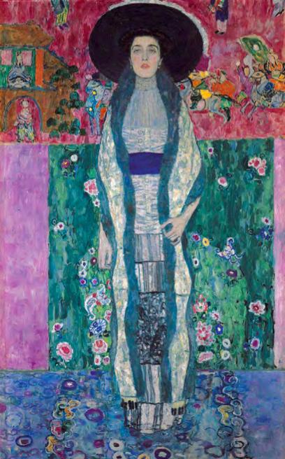 GUSTAV KLIMT (1862-1918) - Adele Bloch-Bauer I, 1912 © D. R.