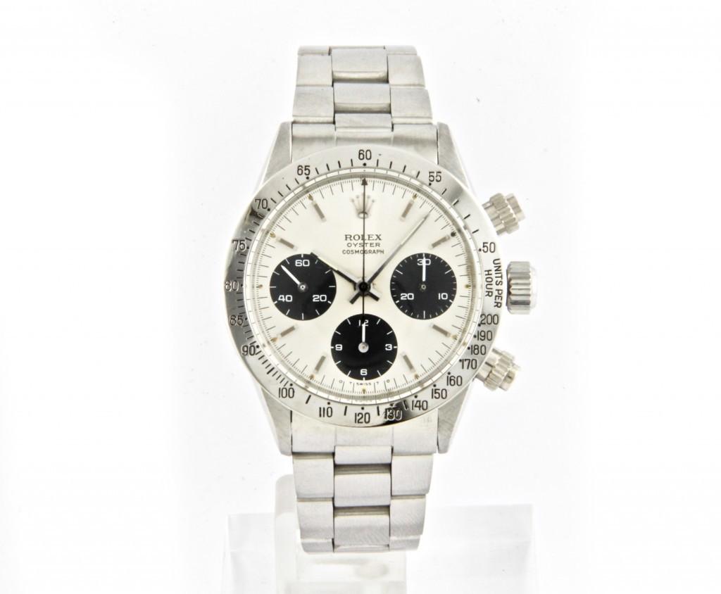Rolex - Vintage Oyster Cosmograph Daytona, men's wristwatch, stainless steel