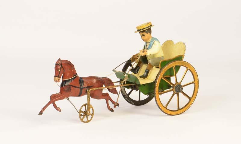 GÜNTHERMANN Junge mit Pferdekutsche