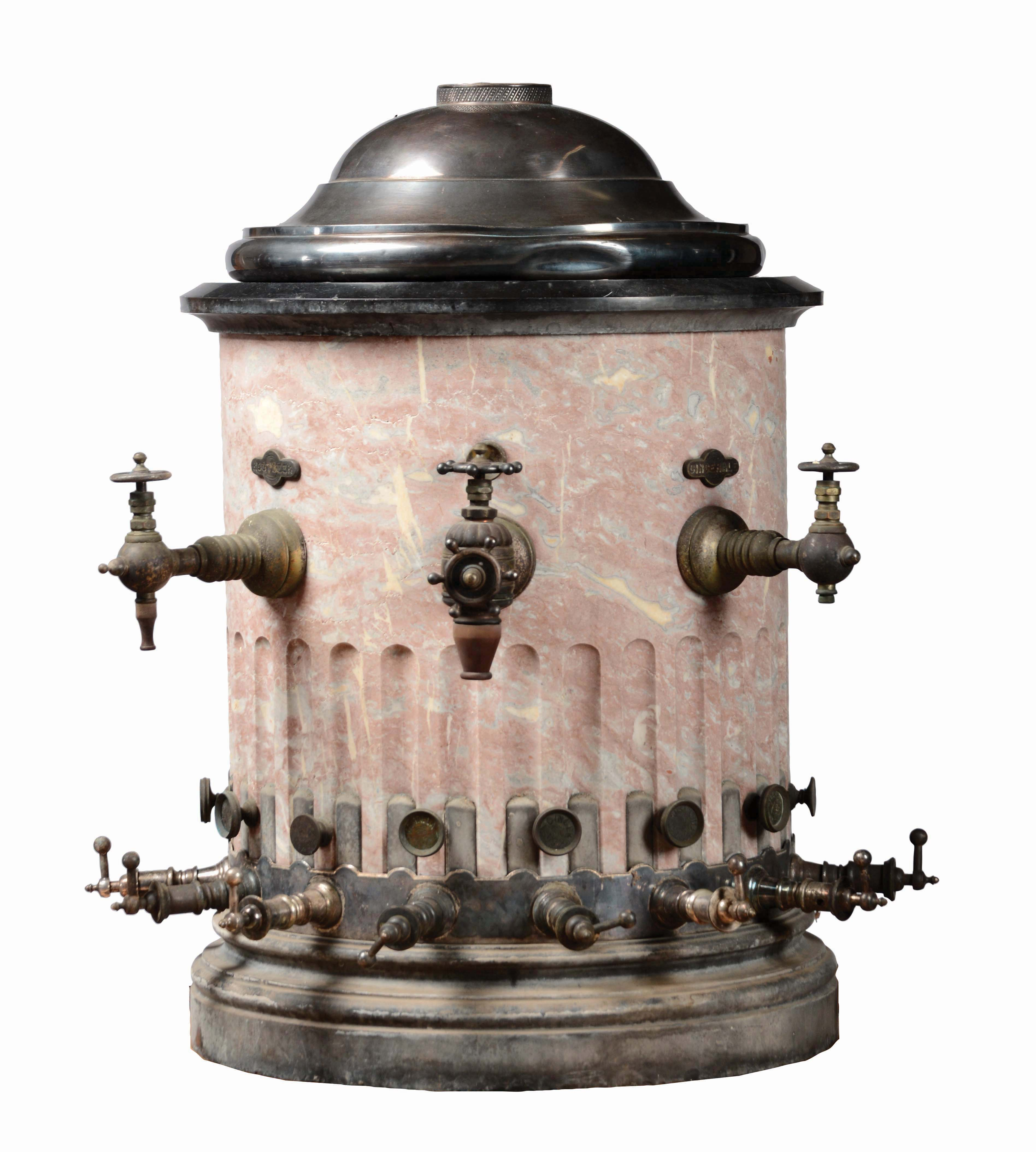 The Arctic Soda Water Apparatus Marble Dispenser