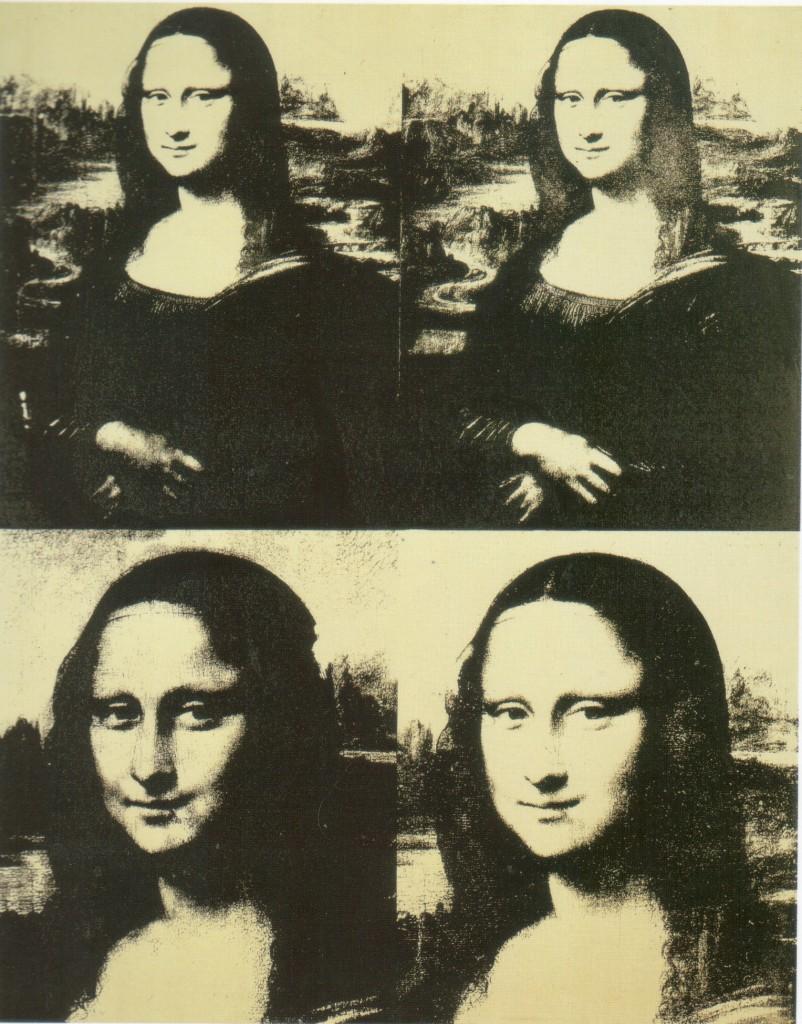 Warhol's Mona Lisa Four Times, 1979