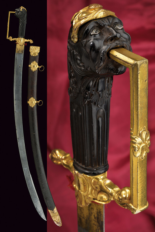 En vacker och sällsynt sabel. Utrop: 106 000 SEK