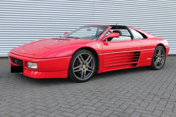 Ferrari - 348 TS Targa - 1992. Utropspris: 570 000 - 740 000 kronor.