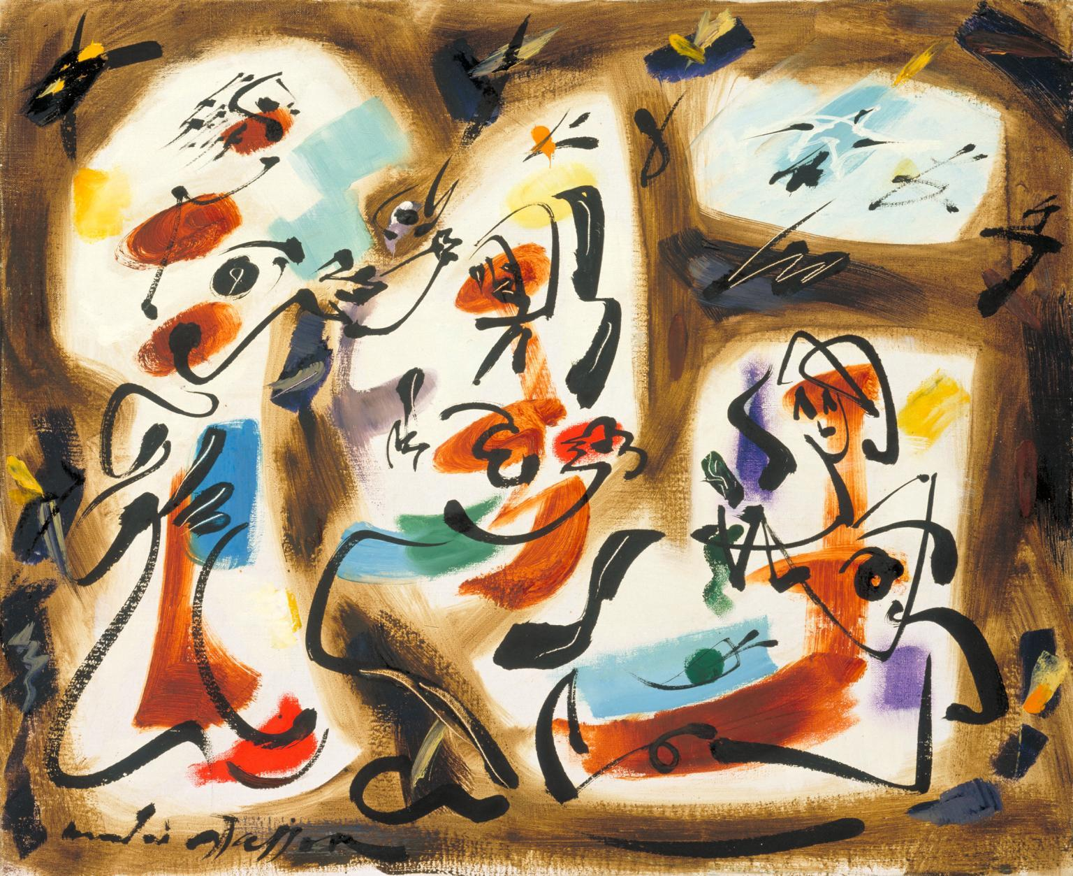 André Masson, 'Kitchen-maids', 1962. Photo: Tate via The Estate of André Masson
