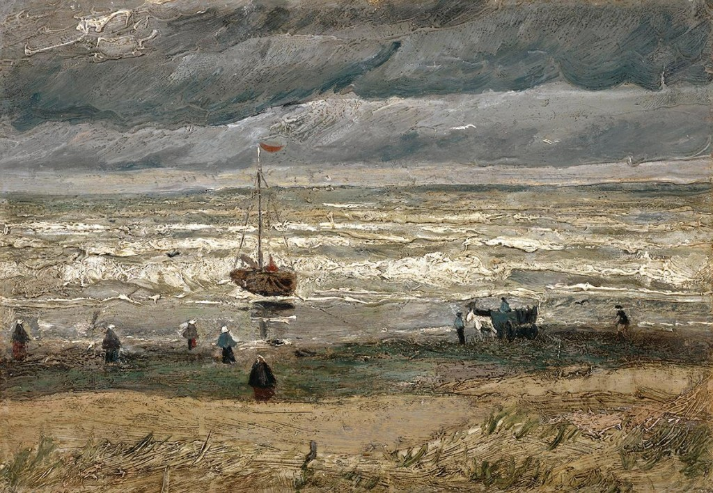 Vincent van Gogh - Meeresbucht bei Scheveningen, 1882