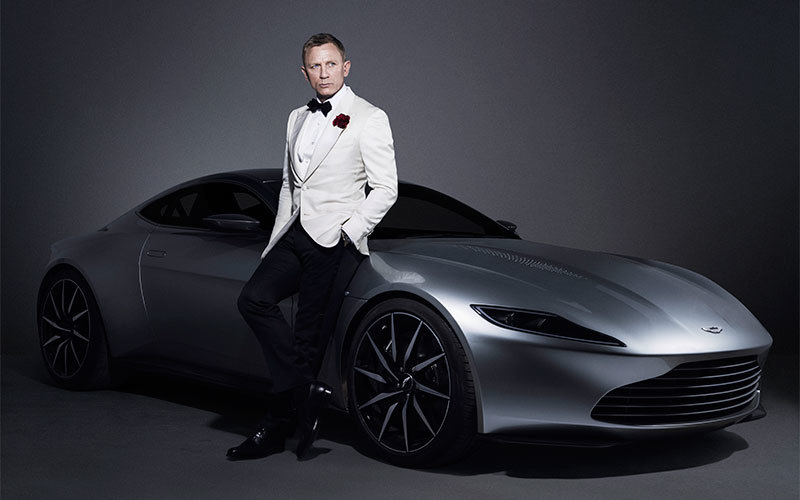 'Spectre' Vanquish Aston Martin DB10. Photo: Christie's