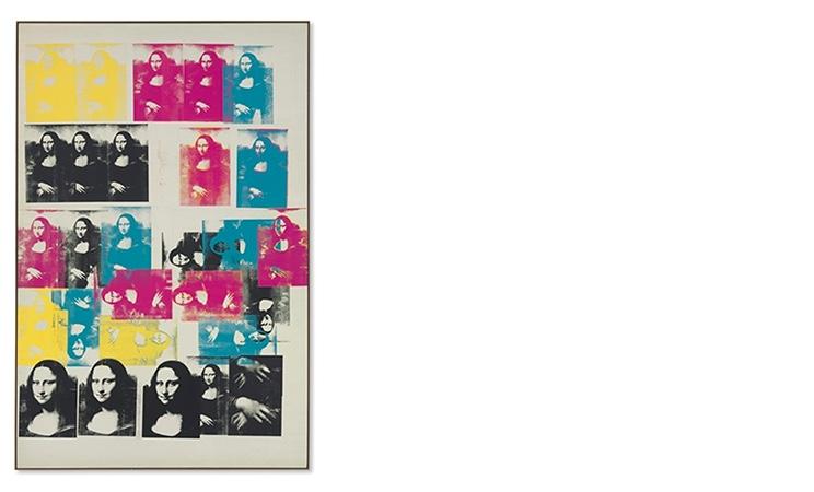 Andy Warhol, Colored Mona Lisa, 1963 | Abb.: Christie's