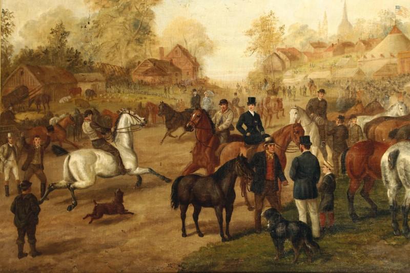 "Edward Benjamin Herberte, ""An Horse Fair"". Foto: Cambi."