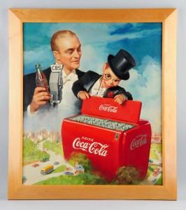 1949 Coca-Cola painting