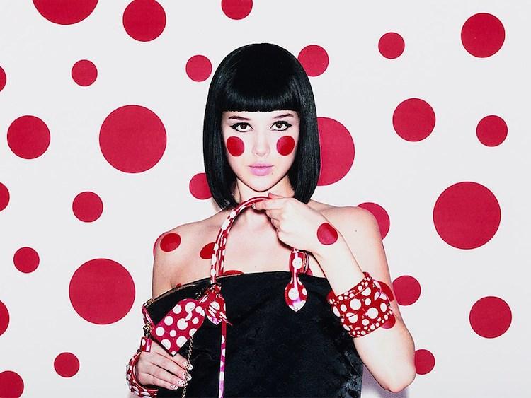 Yayoi Kusama, Polka Dots, for Louis Vuitton, Digital Print, 2012. Utropspris 11 000 SEK, Auctionata