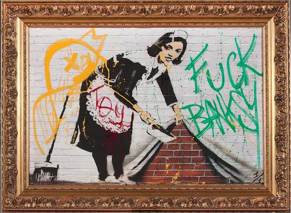 Birdy Freeman, Fuck Banksy, 2008