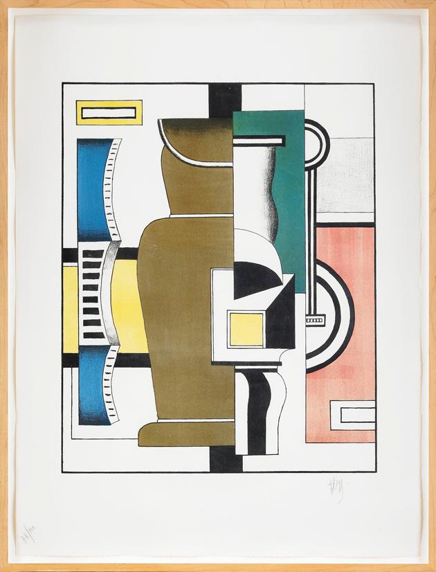 Fernad Léger, Stockholms Auktionsverk, grafikauktion, Fredrik Fellbom