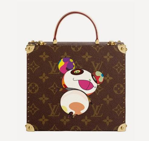 L'un des sacs de la collection Murakami pour Louis Vuitton Photo: Courtesy of Louis Vuitton.