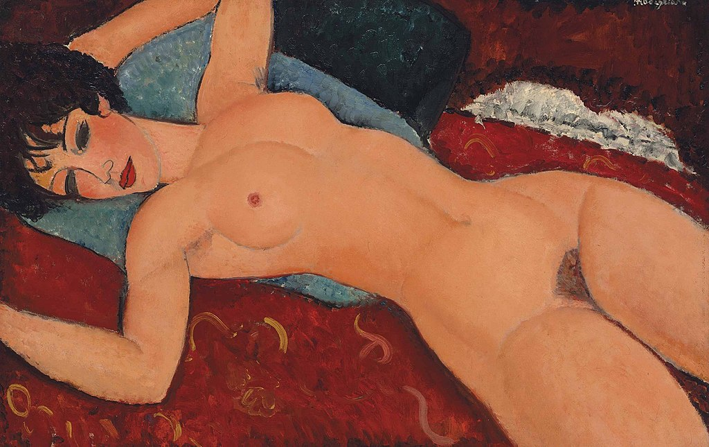 """Nu Couche"", Amedeo Modigliani. Foto: Christie's."