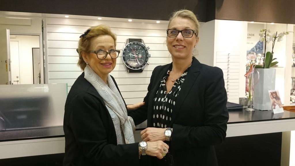 Klockmaster Hansson, Zandra och Annika G(ägare), 2x Grand Seiko