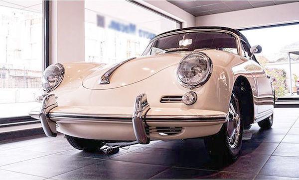 Porsche - 356 B T5 S 90 Cabriolet - 1961. Utropspris: 1,5 - 2 miljoner kronor.