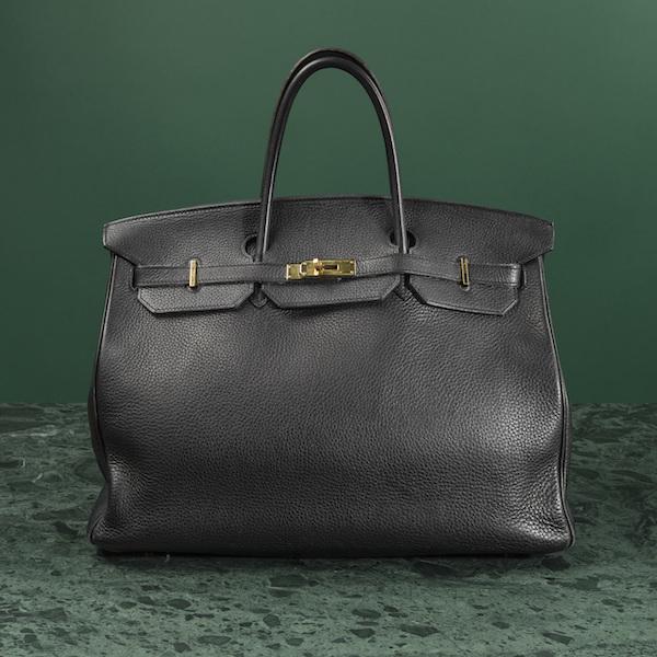 Väska, Hermès, Birkin 40. Utropspris: 70 000 kronor.