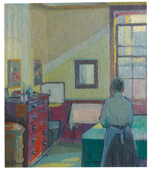 Harold Gilman, Interior (Mrs Mounter) 1917Estimate:£150 000 -250 000Hammer price: £485 000