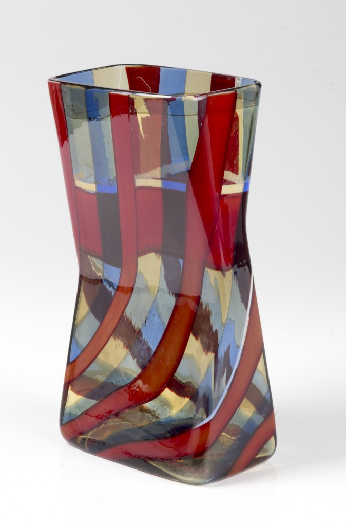 "FULVIO BIANCONI - Vase der Serie ""Scozzesi"", VENINI, Murano ca. 1954 Schätzpreis: 100.000-120.000 EUR Schätzpreis:"