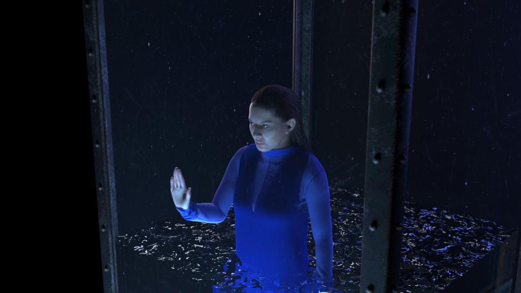 Marina nell'app Rising. Foto: Acute Art