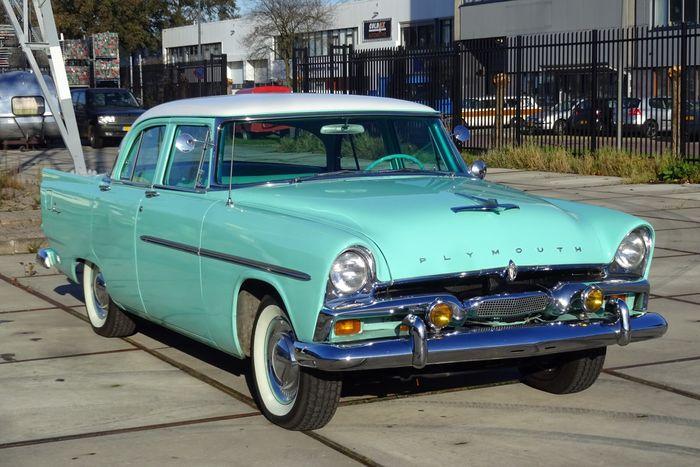 Plymouth - Savoy 3.8 L 3770CC 230CI - 1956 Schätzpreis: 18.500-24.250 EUR