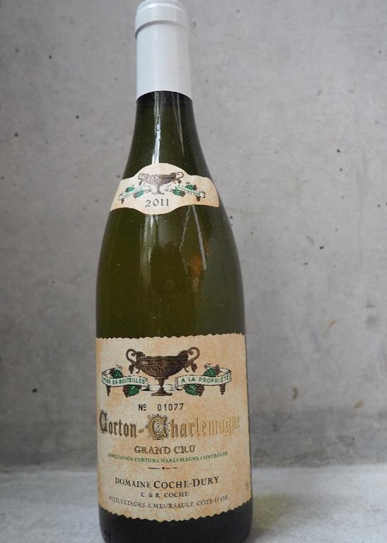 Corton-Charlemagne, Domaine Coche-Dury, 2011 Fin des enchères le 13 février Estimation basse: 1 600 euros