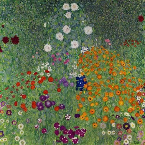 GUSTAV KLIMT (1862-1918) - Bauerngarten, 1907 Bildnachweis: Sotheby's