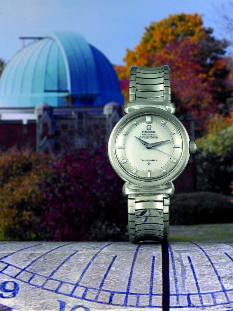 Diese OMEGA Platinum Constallation Grand Luxe von 1958 wurde 2007 für ca. 378.000 Euro versteigert   Foto: Antiquorum