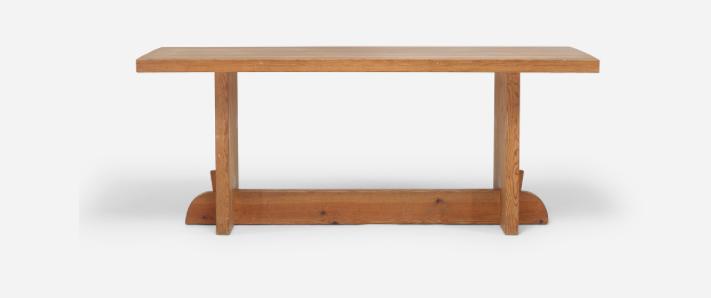 """Axel Einar Hjorths matbord """"Lovö"""" ropas ut för 18 000 dollar hos Wrights auktioner $18,000"""