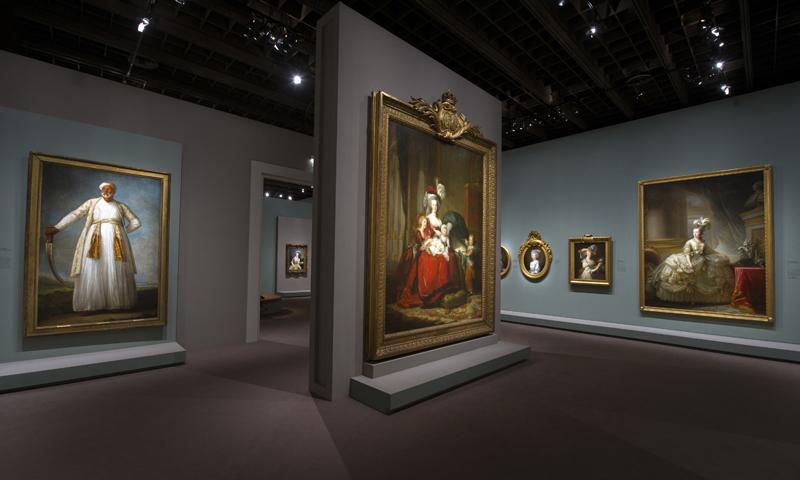 'The Élisabeth Vigée Le Brun Retrospective' at Le Grand Palais, Paris. Photo: Paris is Beautiful