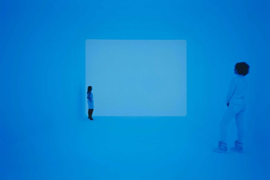 Sight unseen, 2013 by James Turrell © James Turrell (Photo: Florian Holzherr)