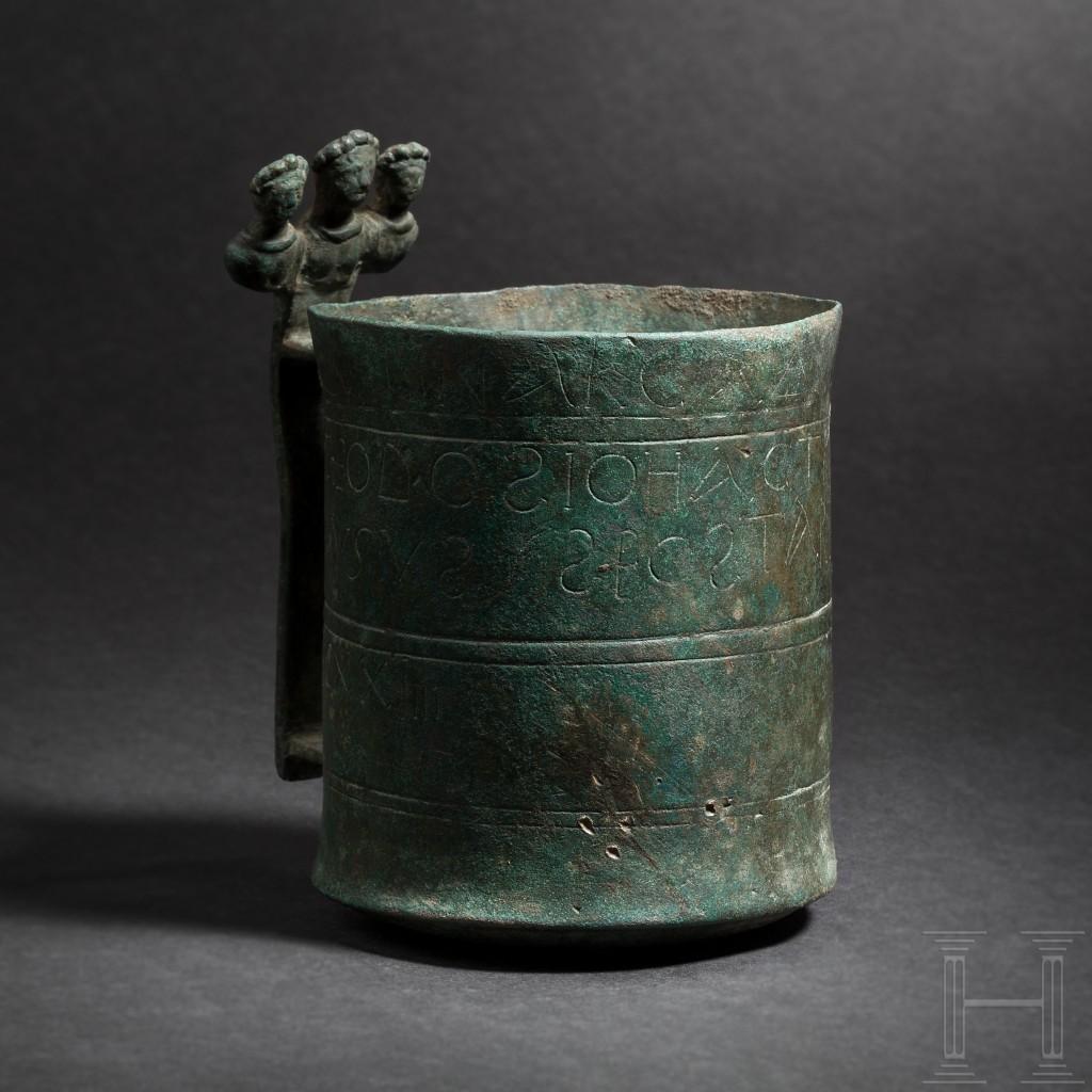 Dosatore con iscrizioni e incisioni imperiali, Impero Romano, 402-408 d.C.