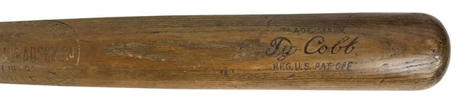 Ty Cobb game used bat