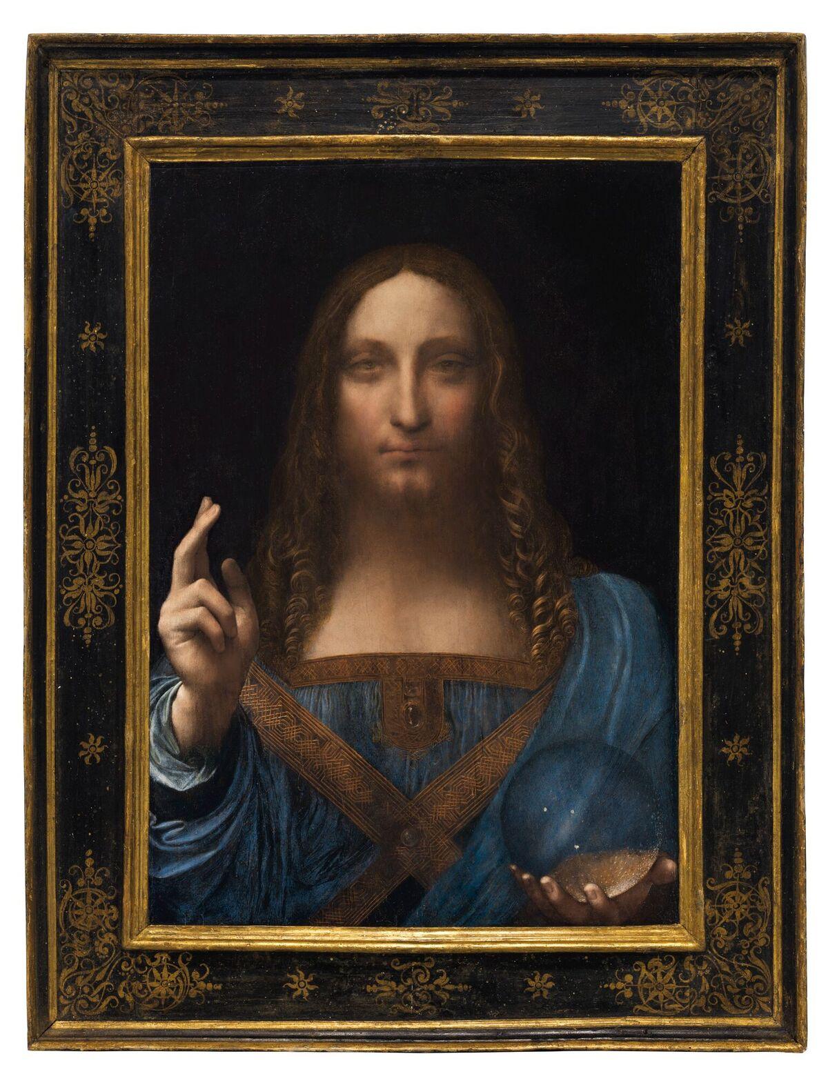 Da Vinci's Salvator Mundi