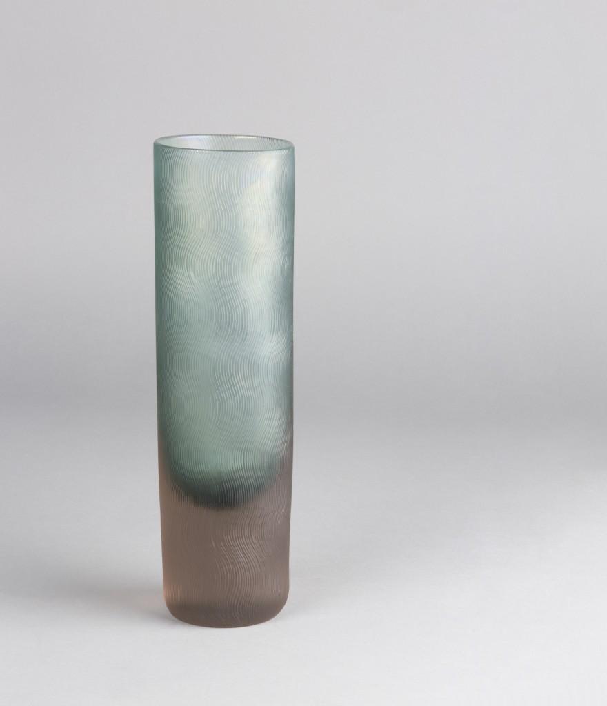 CARLO SCARPA - Zweifarbige Vase aus irisierendem Glas, VENINI, Murano ca. 1940 Schätzpreis: 12.000-15.000 EUR