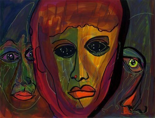 Anthony Hopkins, Opera Ball 1, image ©Margam Fine Art, LLC