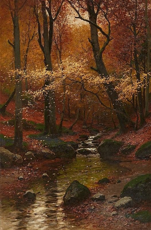 Konrad Alexander Müller-Kurzwelly, Fallende Blätter (Falling leaves)