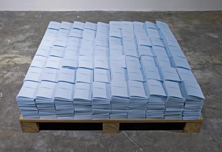 Ö (The Mutual Letter), 2011, ljudinstallation.