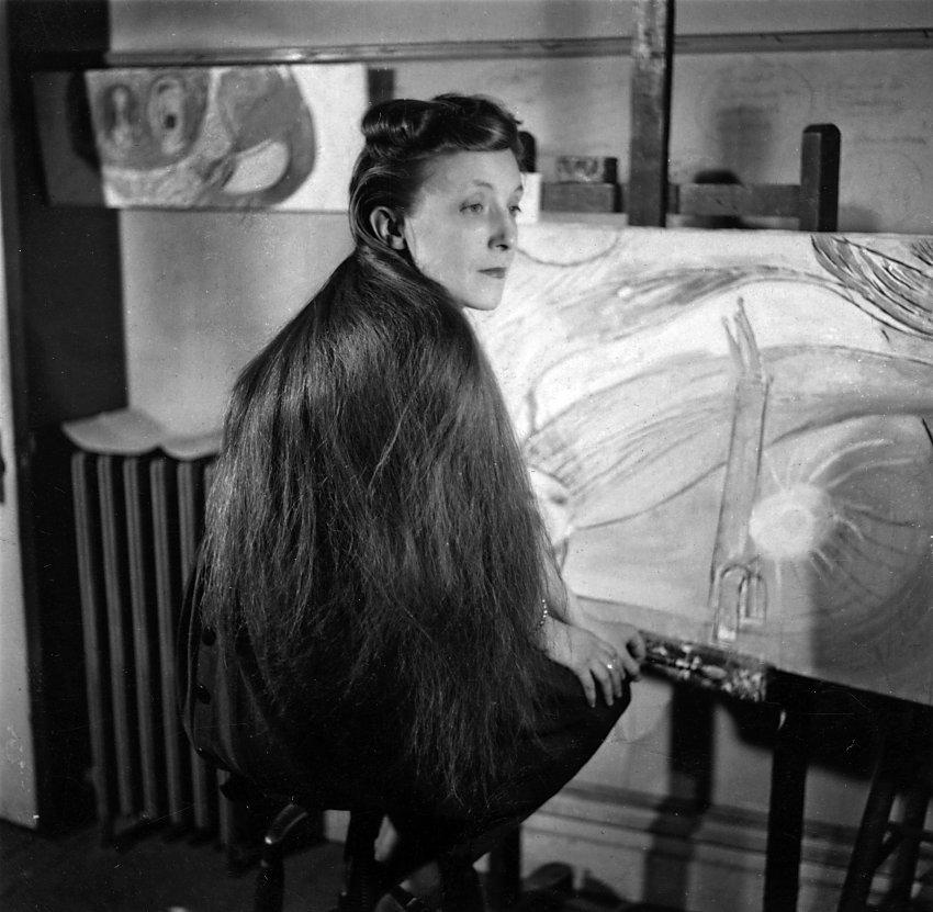Louise Bourgeois a New York nel 1946,. Immagine ©bourgeoisstudio.com