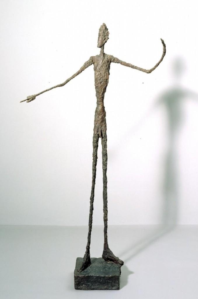 "Alberto Giacometti ""L'Homme au doigt"" (1947)   Foto: Tate Museum"