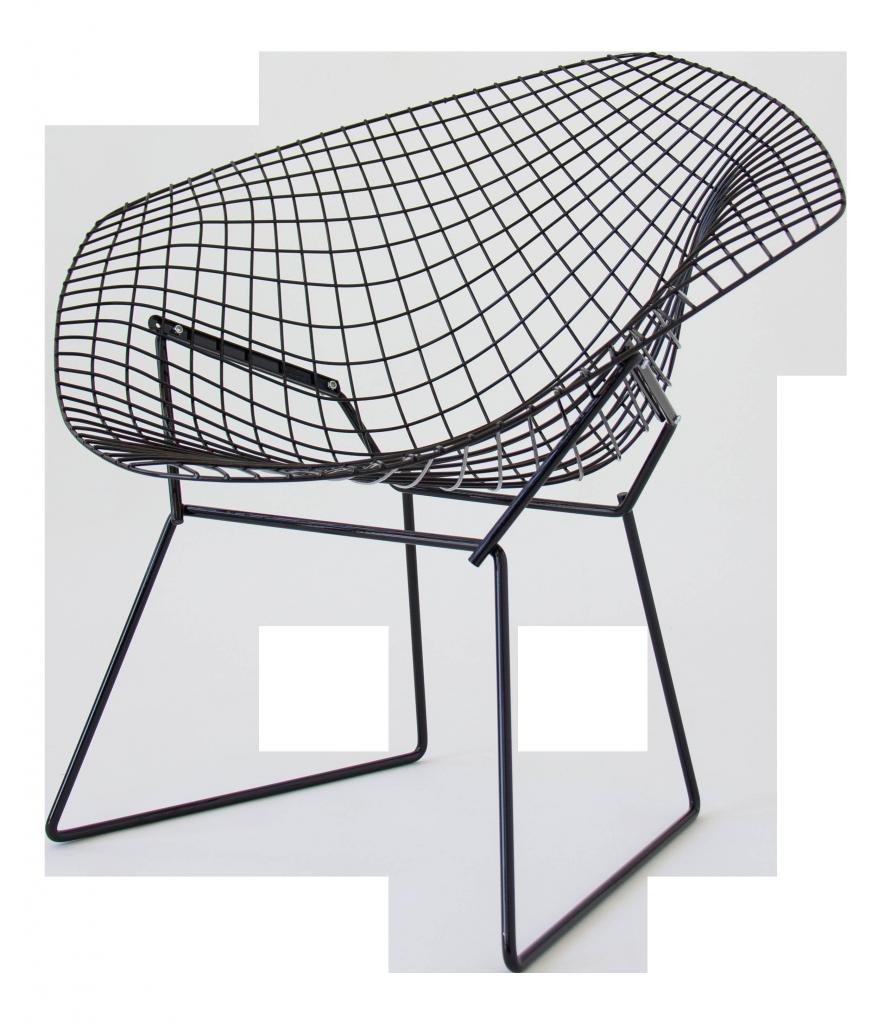"""HARRY BERTOIA """"Diamond Chair"""", KNOLL 1952 DECASO"""