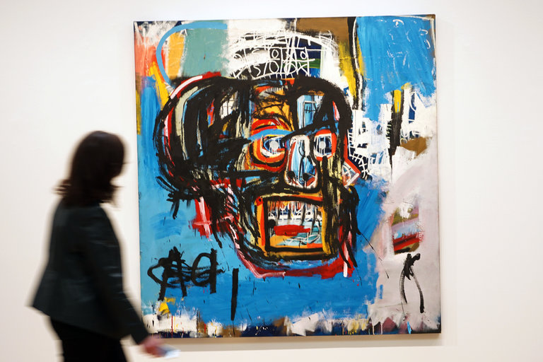 Jean-Michel Basquiat, Untitled, 1982 2017 The Estate of Jean-Michel Basquiat / ADAGP, Paris / ARS, via Sotheby's