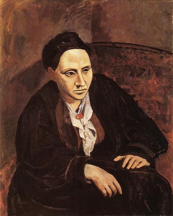 Pablo Picasso, Gertrude Stein, 1905.