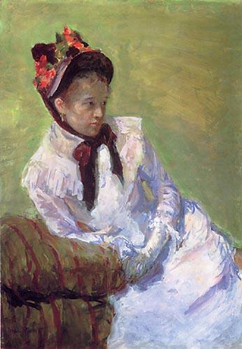 Selbstportrait von Mary Cassatt aus dem Jahr 1878