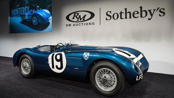 Jaguar Type-C de 1953 © Daren Schnabel / RM Sotheby's